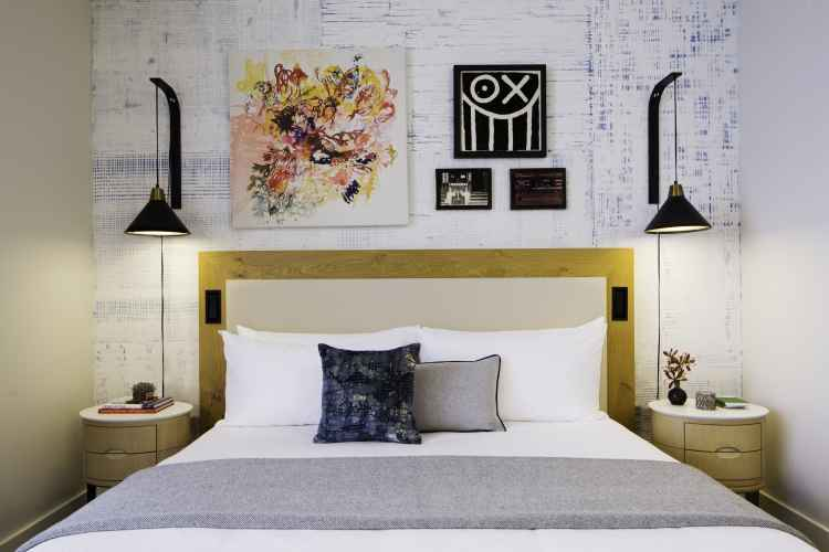 50 Bowery guest room