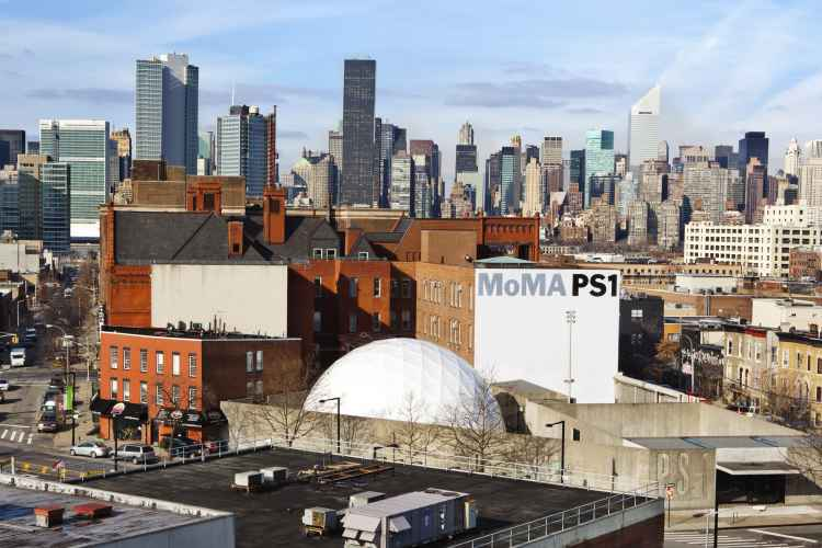 View of the MoMA PS1 exterior