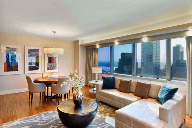 Westin new york at times square living room