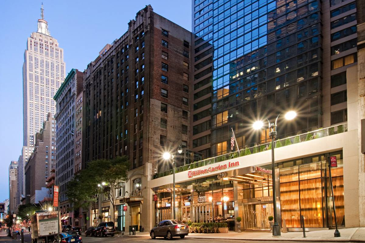 Hilton garden inn new york midtown park avenue for Hippest hotels in nyc