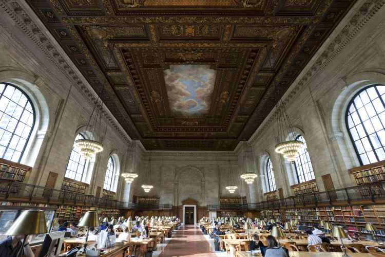 New York Public Library Steven A. Schwarzman Building The Rose Main Reading Room