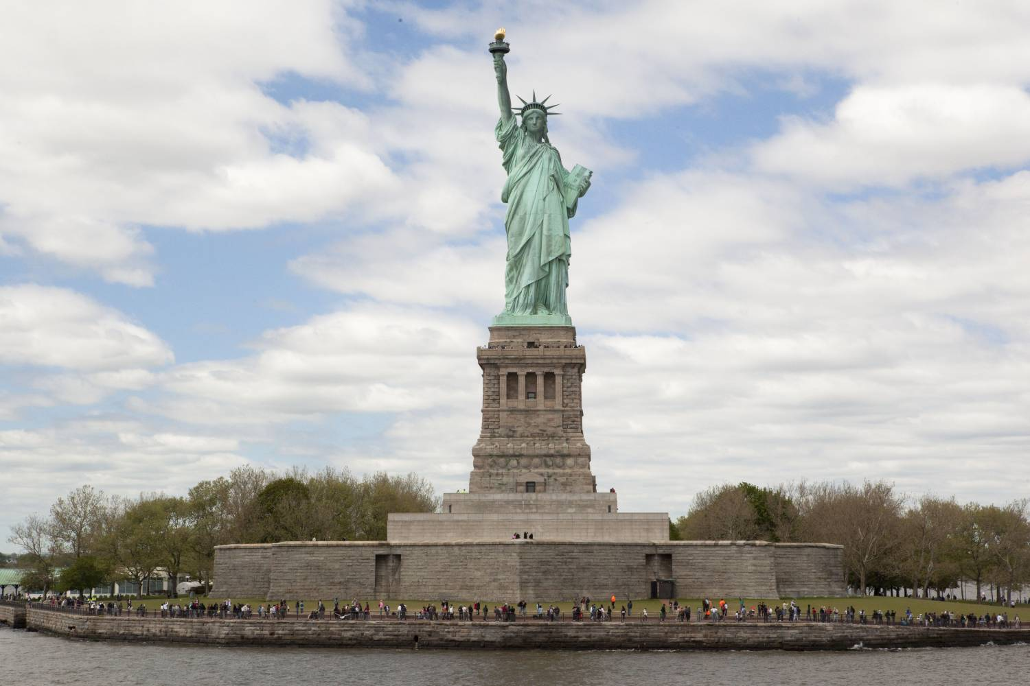 Statue of Liberty, day