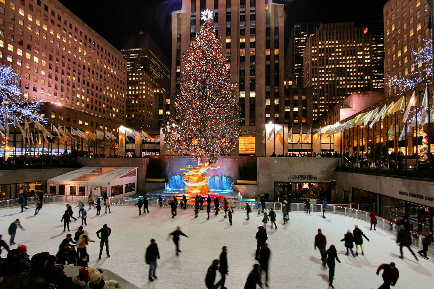 New York City Vacation Packages, rock center