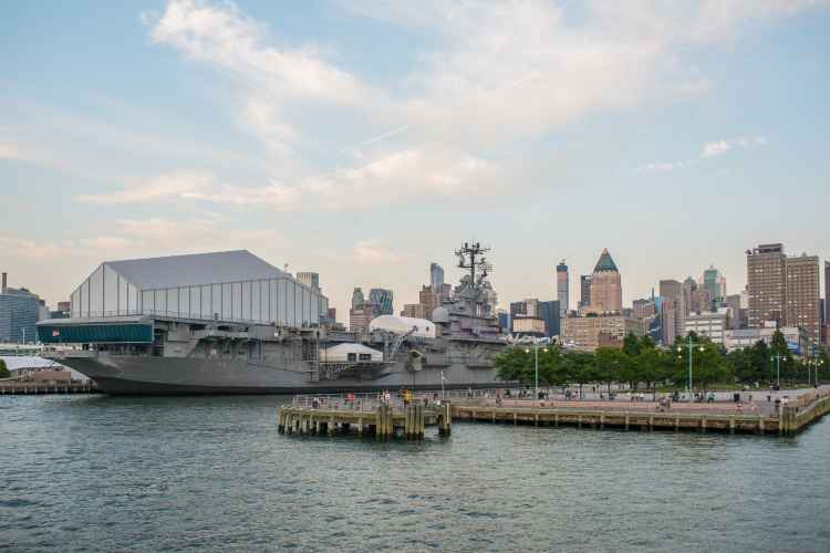 The Intrepid, view