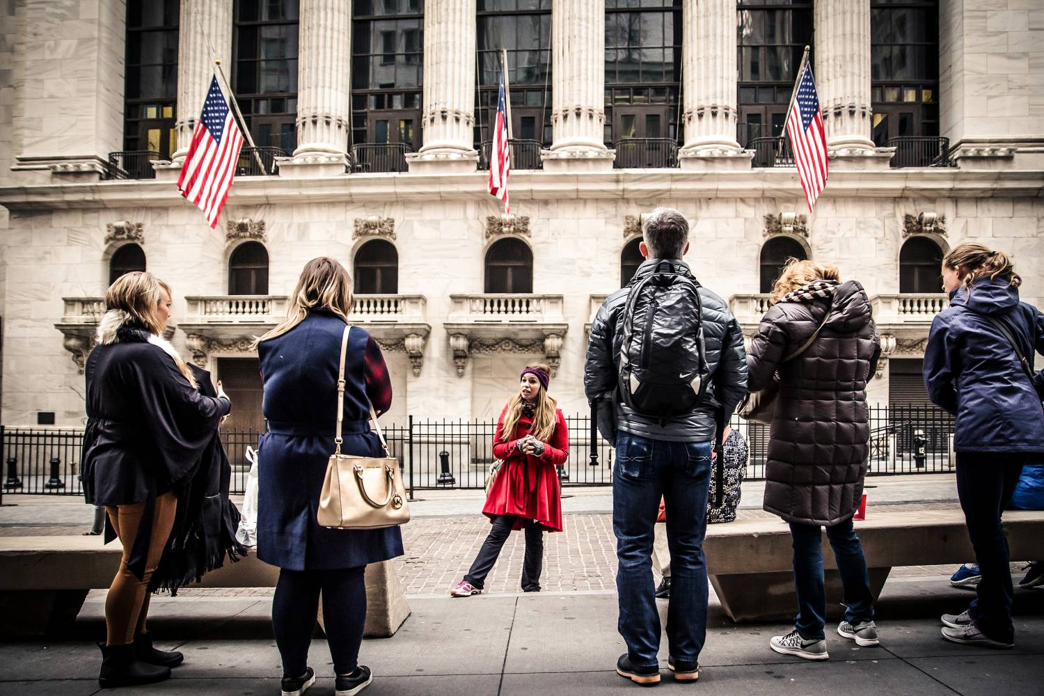 touring wall street on the The Wall Street Experience