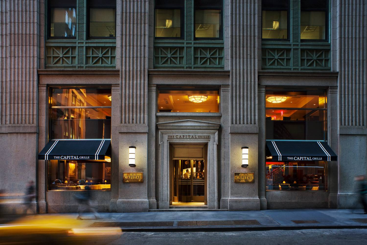 Capital Grille Wall Street, exterior