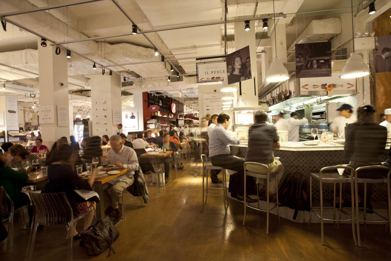 Eataly, dining