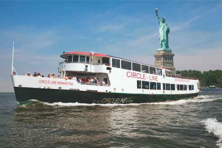 Circle Line Cruises, statue of liberty