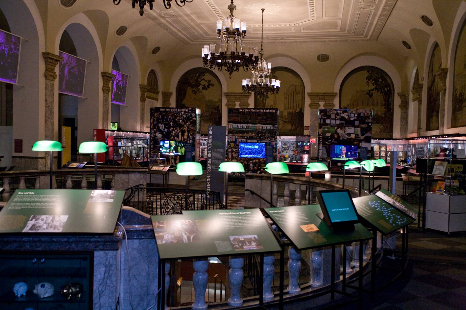 Museum of American Finance, interior