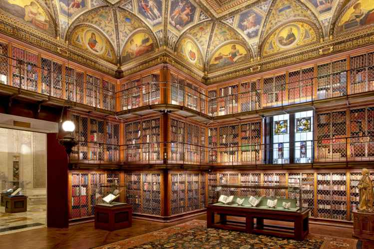 Morgan Library & Museum eastroom