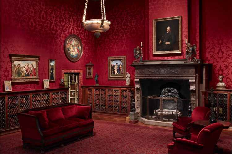 Morgan Library & Museum west room
