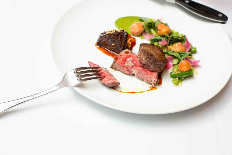 Aureole, Dry-aged-new-york-strip