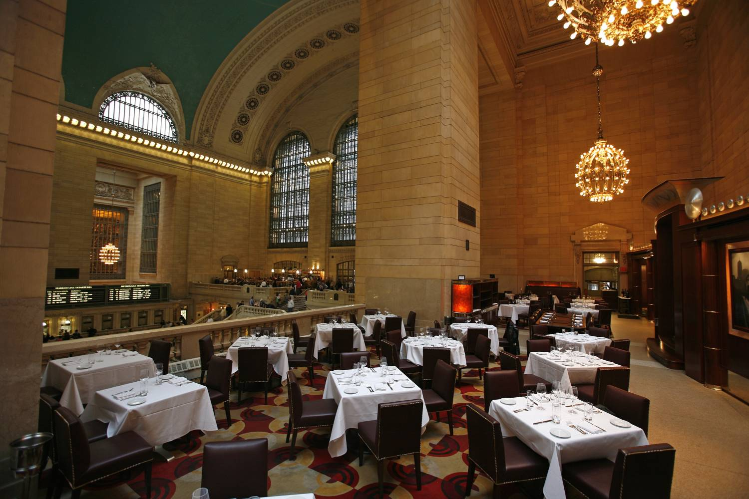 Michael Jordan's The Steak House N.Y.C in grand Central