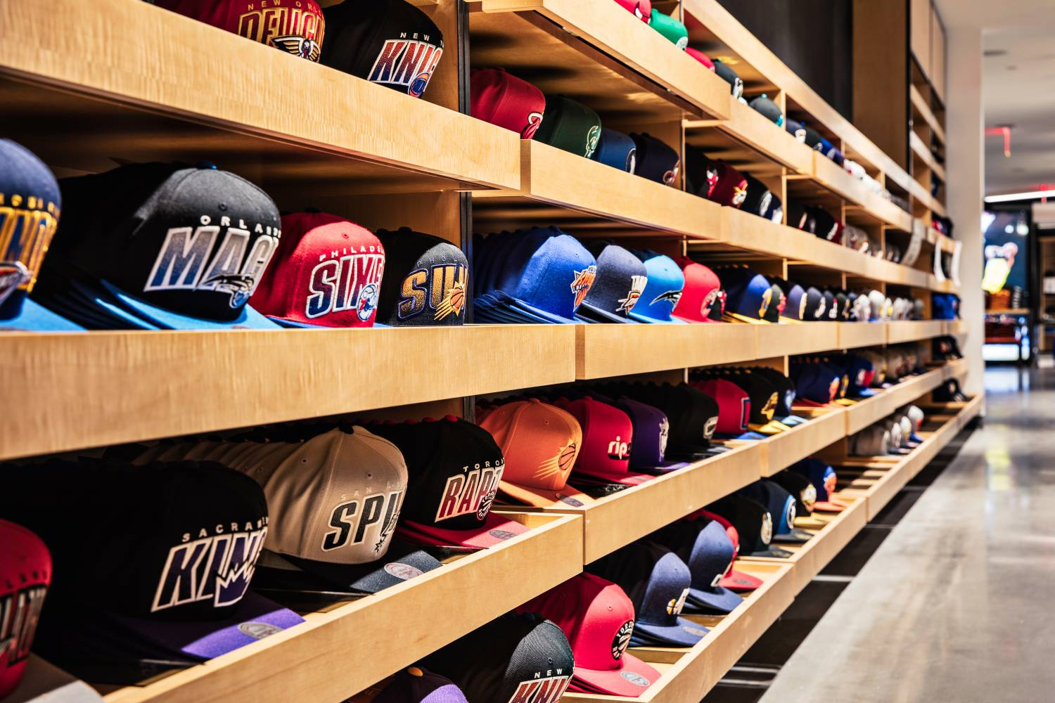 hats at NBA Store