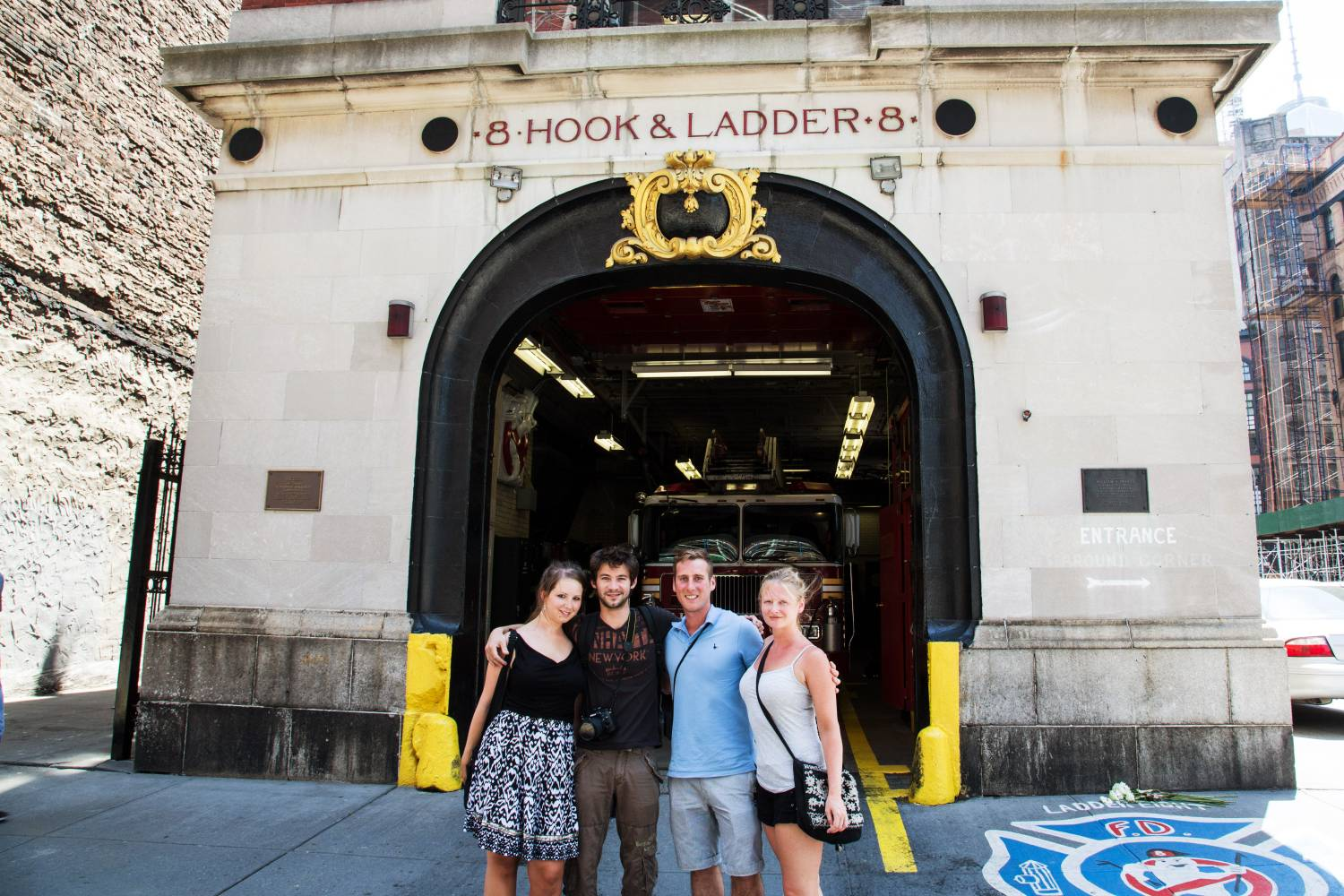 On Location Tours, ghost busters fire house
