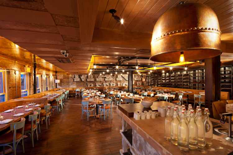 Interior of Catch Restaurant in Meatpacking District