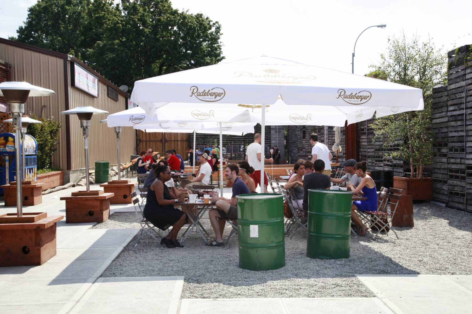 Greenwood Park Beer Garden outdoor area