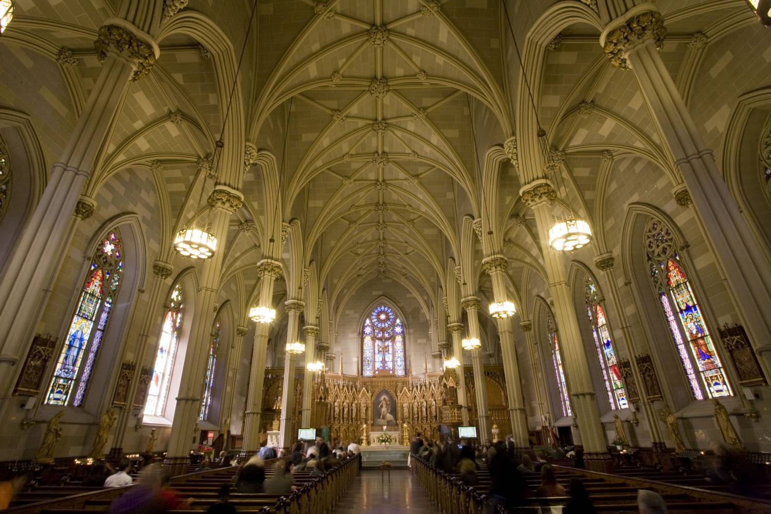 St. Patrick's Old Cathedral, interior