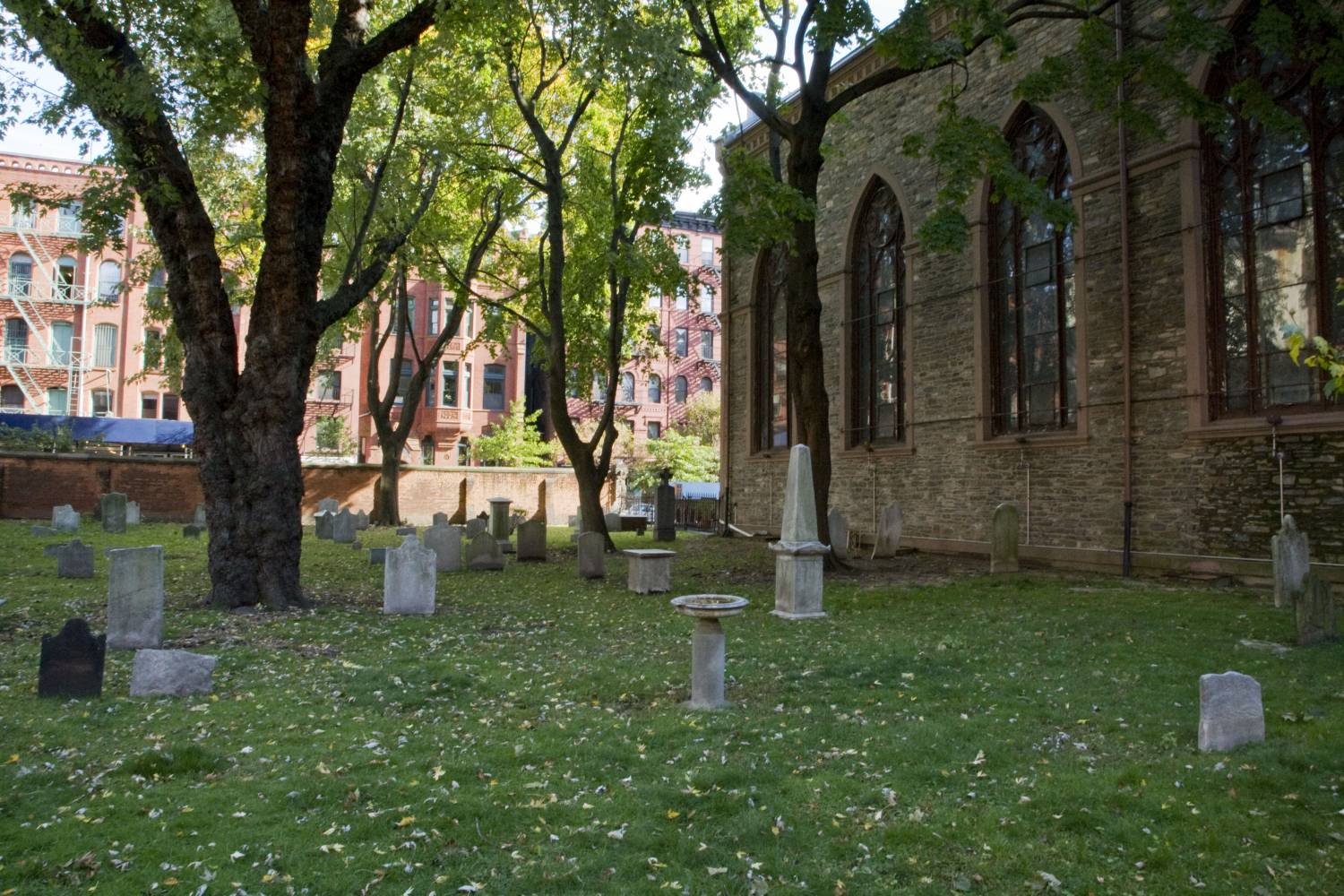 St. Patrick's Old Cathedral, cemetery