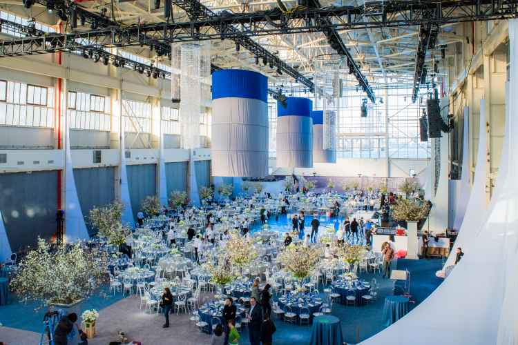Gala event at Duggal Visual Solutions in the navy yard in brooklyn