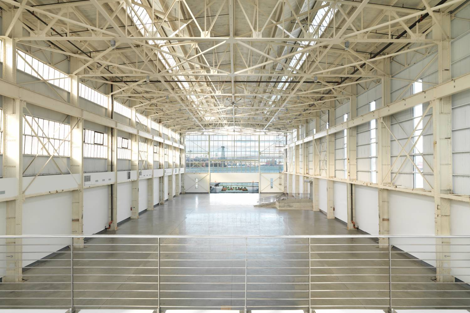 empty interior at Duggal Visual Solutions in the navy yard in brooklyn
