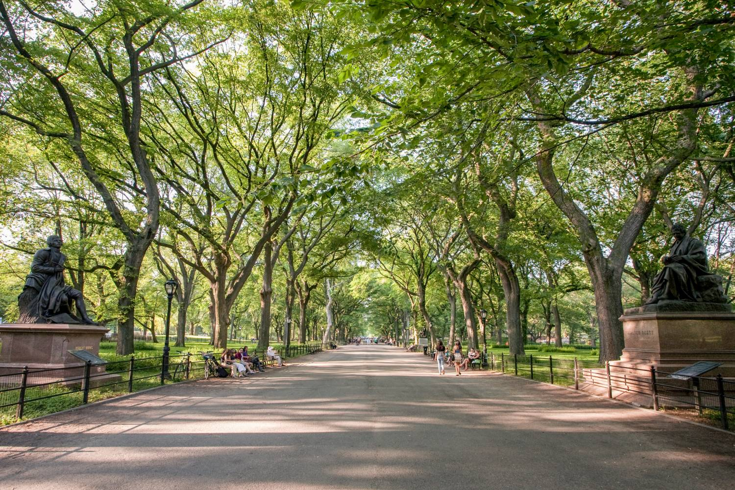 the mall and literary walk