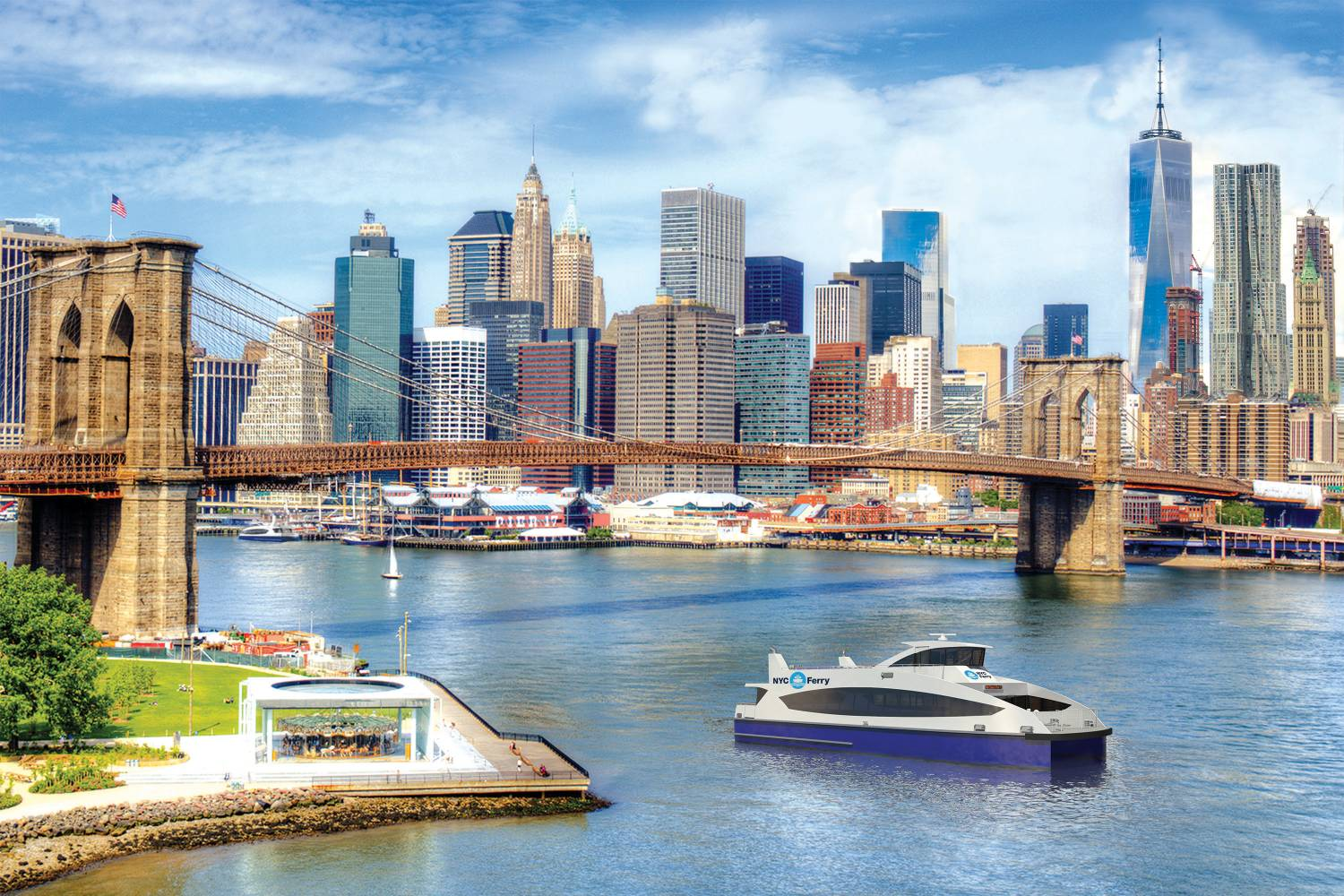 NYC Ferry | Transportation | NYCgo
