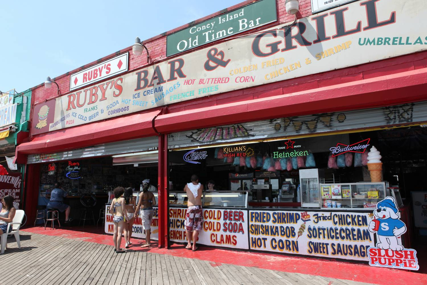 Ruby's Old Tyme Bar and Grill in Coney Island