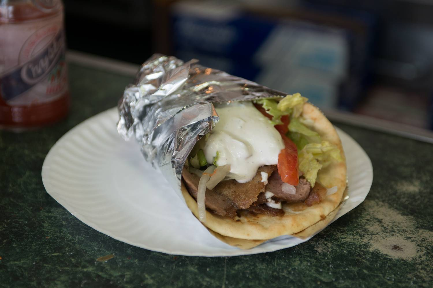 Gyro King, food