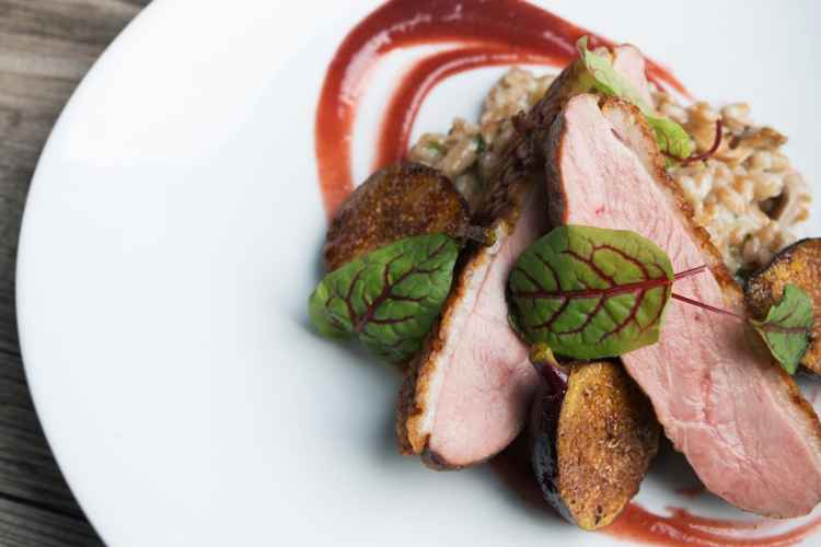 Duck with figs at Burke & Wills