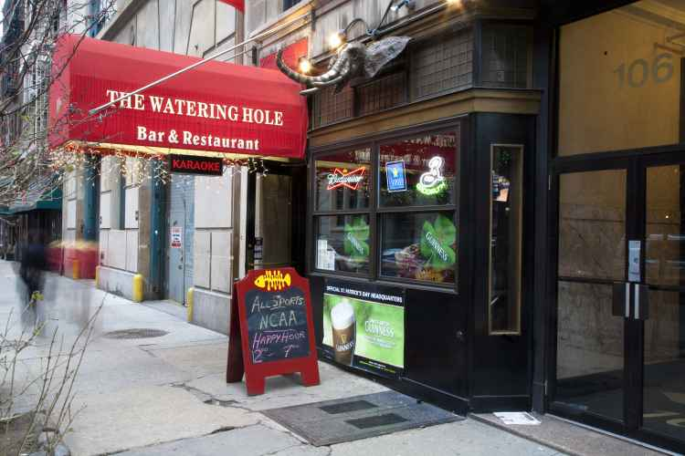 The Watering Hole, exterior