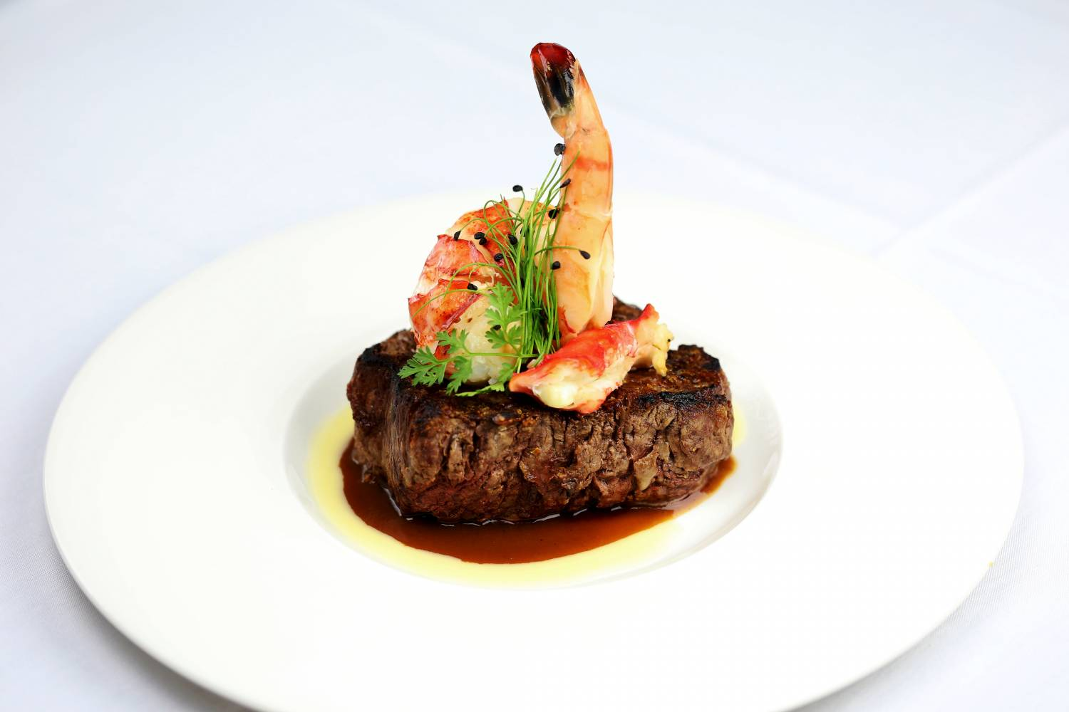 surf and turf at The Sea Fire Grill