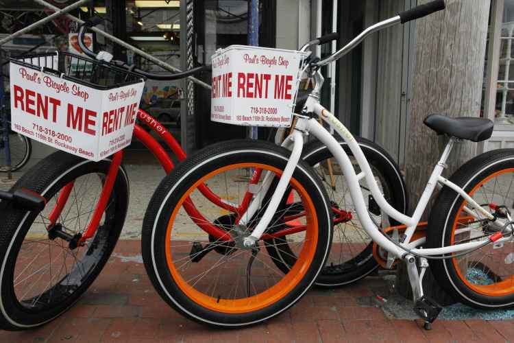 Paul's Bicycle Shop, rentals