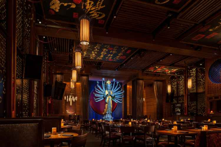 Tao downtown dining room