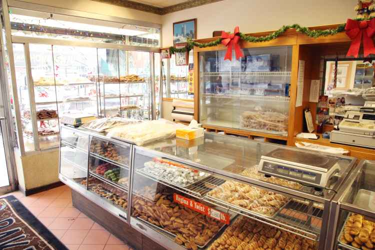 interior of Court Pastry Shop in Carroll Gardens