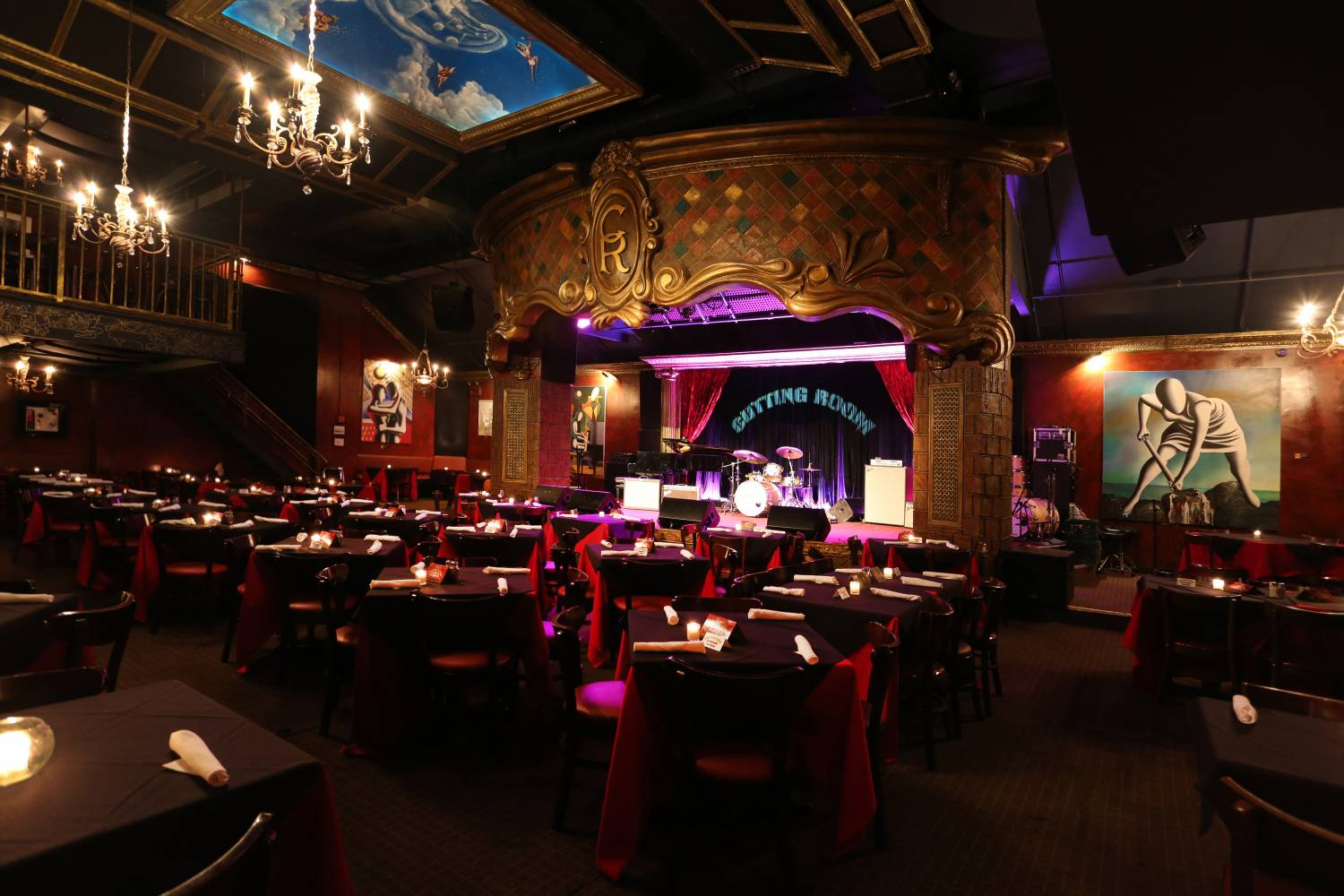 The Cutting Room, wide