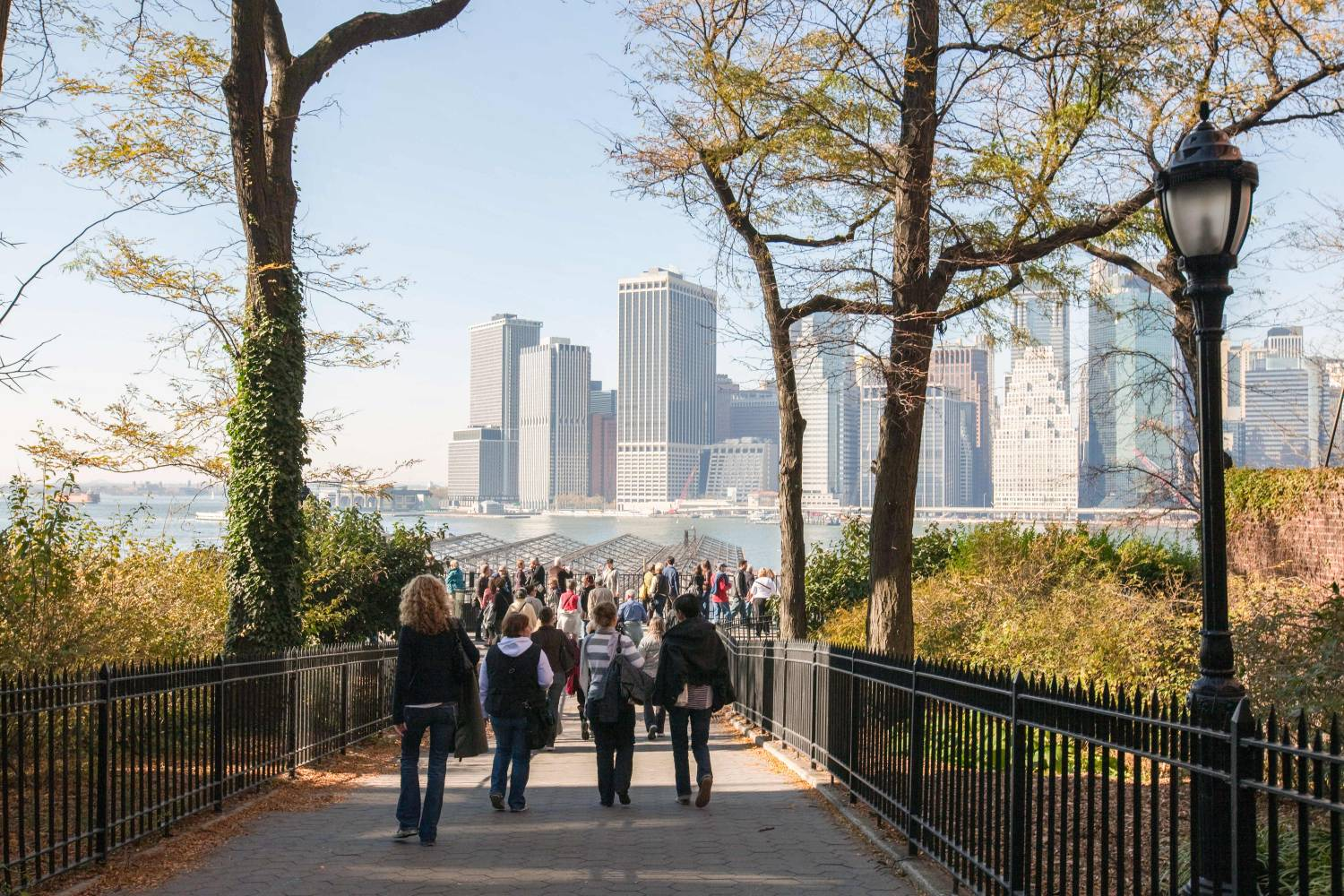 Brooklyn Heights Promenade: Attractions in Brooklyn, NY on