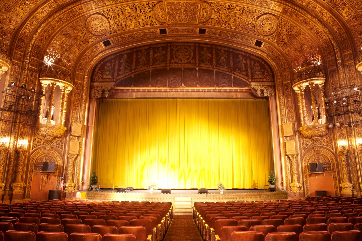 United Palace of Cultural Arts, stage interior