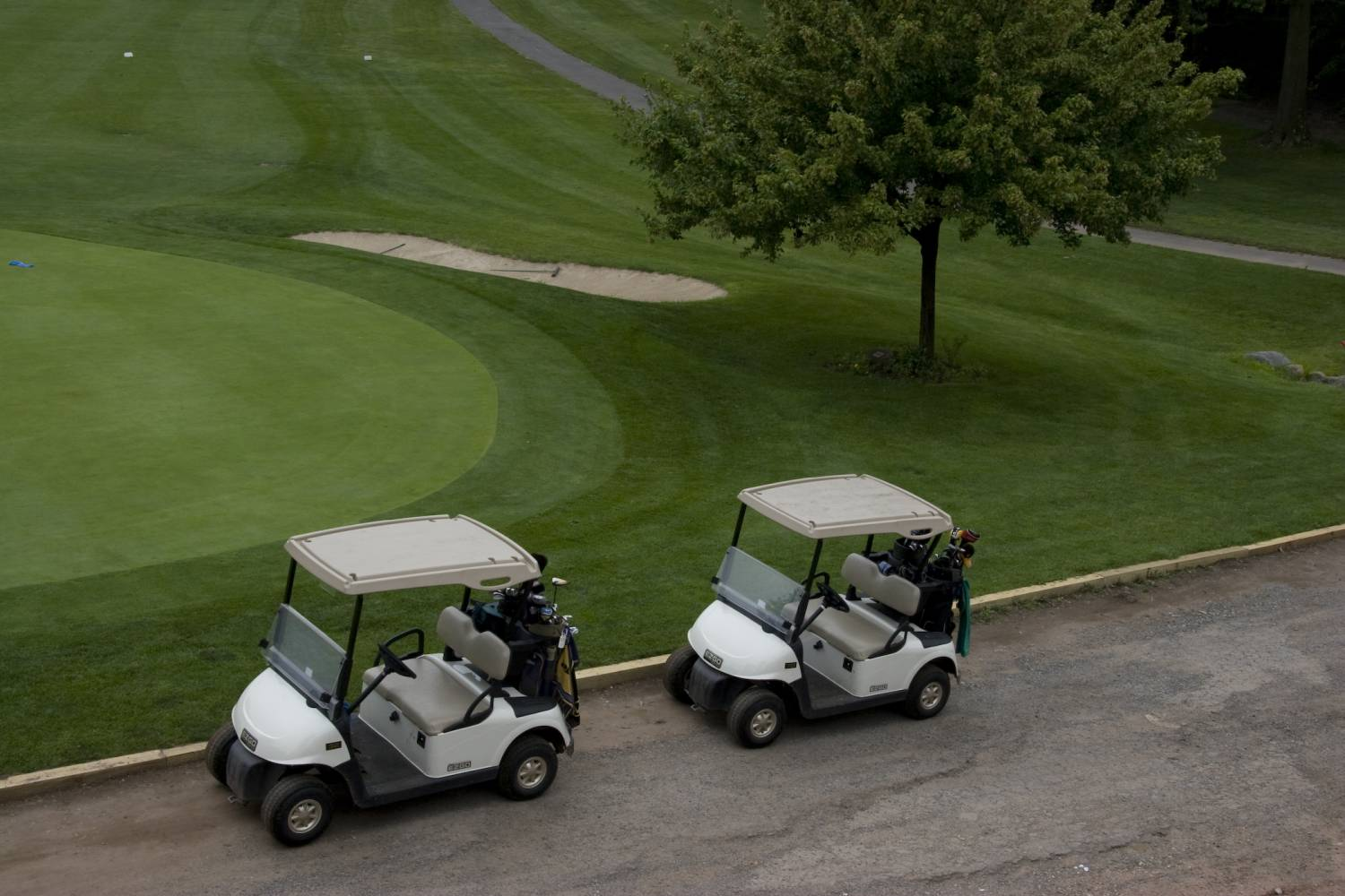 South Shore Golf Course, carts