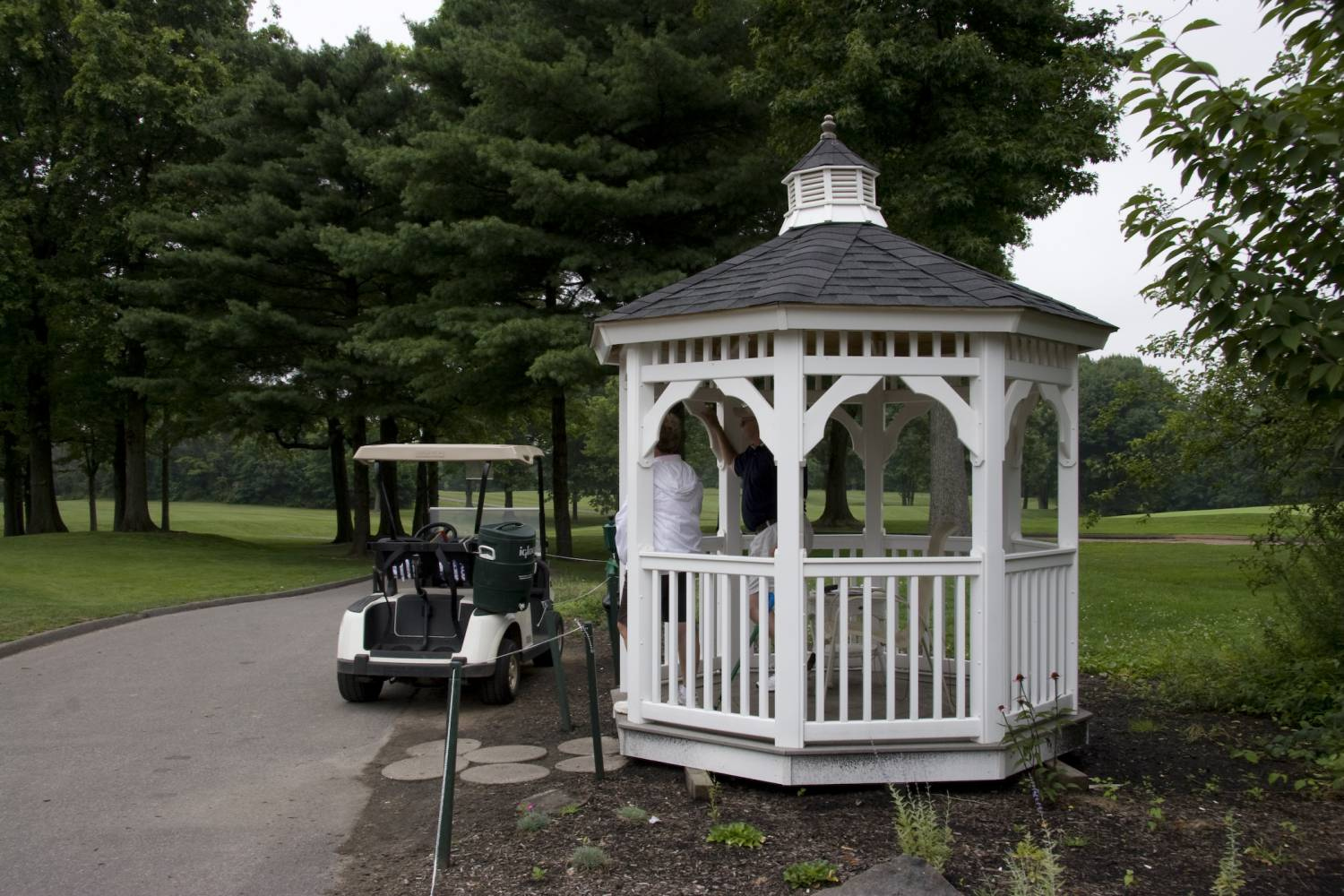South Shore Golf Course, gazebo