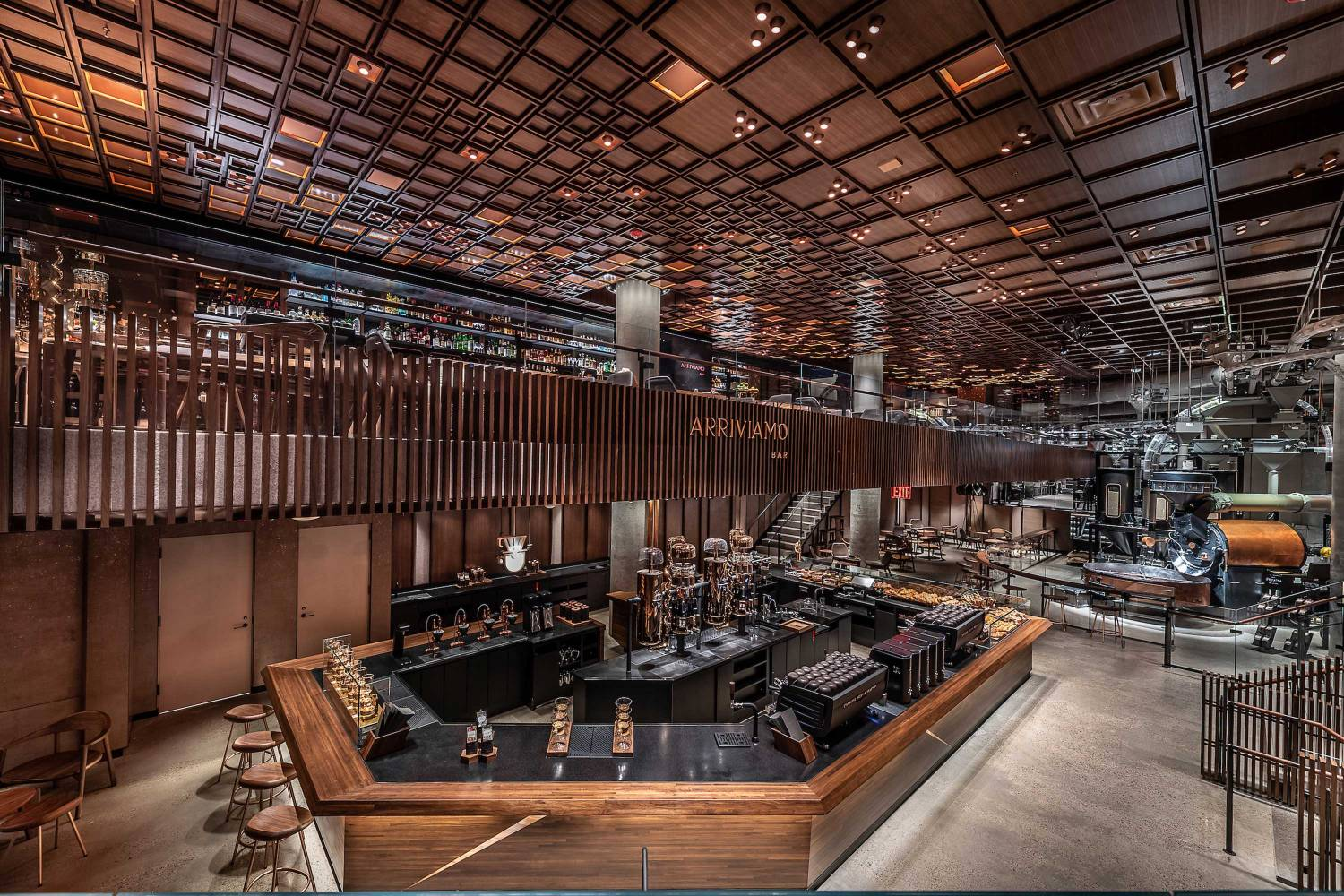 Starbucks Reserve Roastery Dining Meatpacking District