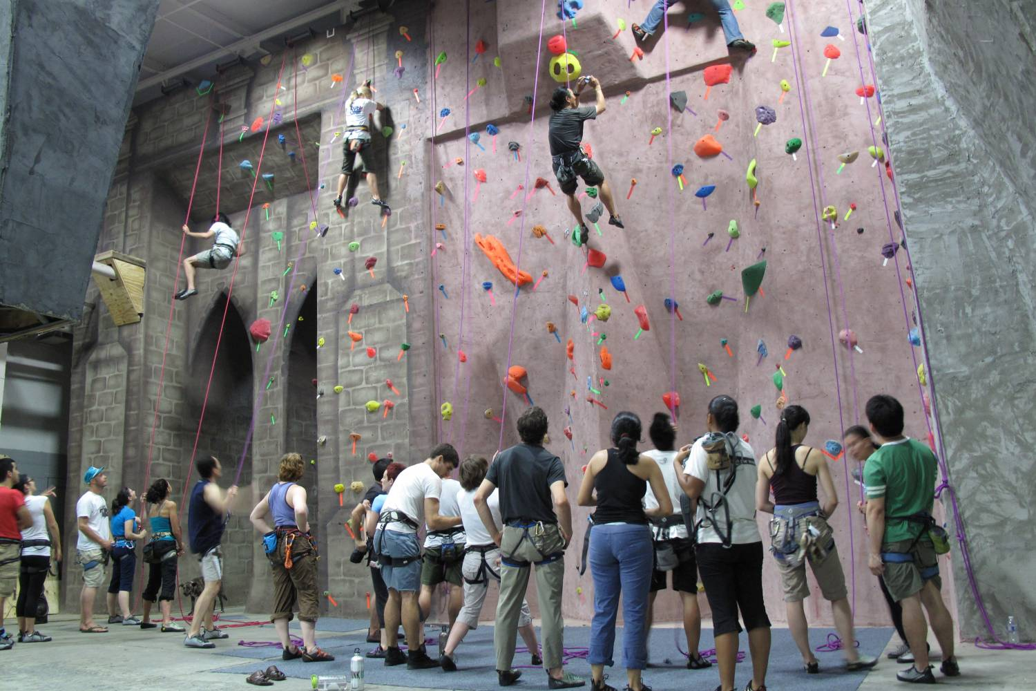 Brooklyn Boulders, wide