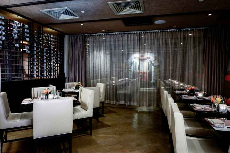 dining room at Pera SoHo