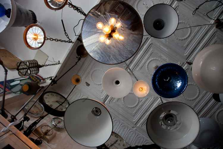 lights at city foundry