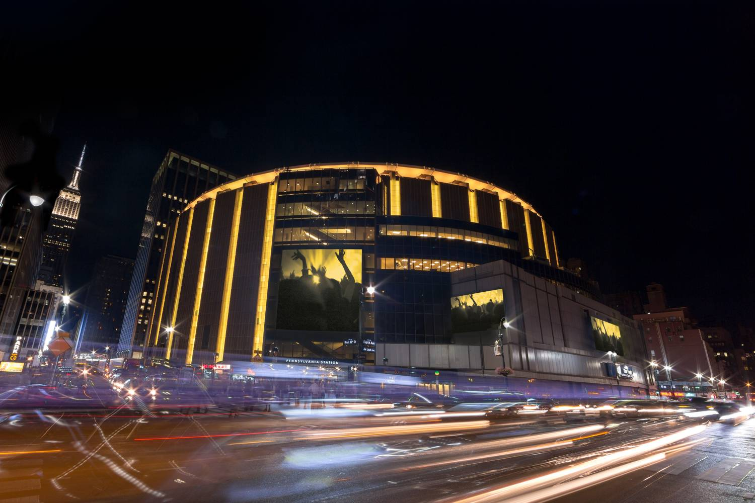 Exterior of Madison Square Garden