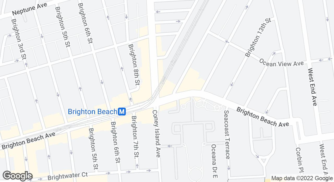 Brighton Beach On Subway Map.Brighton Bazaar The Official Guide To New York City
