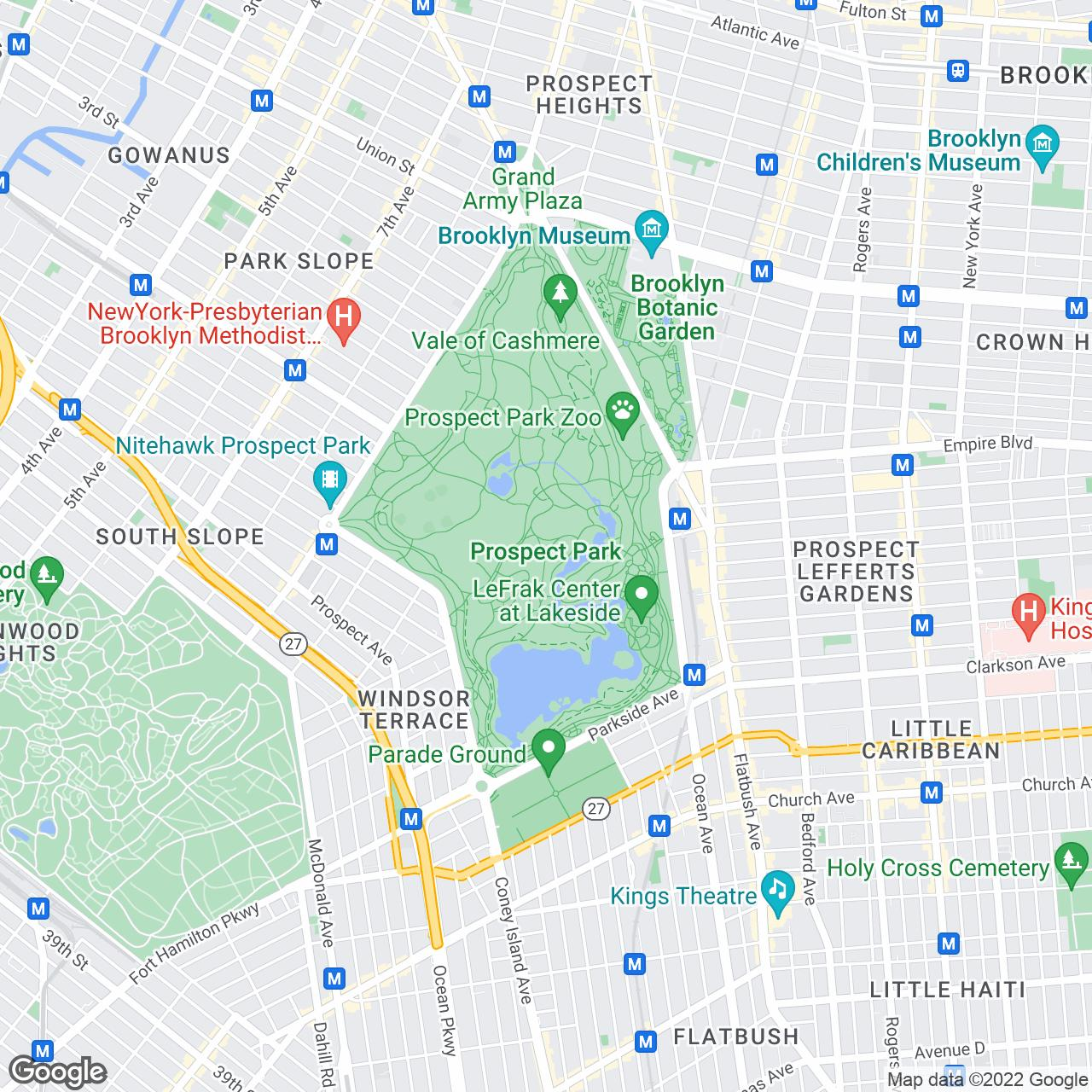 what's nearby. prospect park long meadow  the official guide to new york city