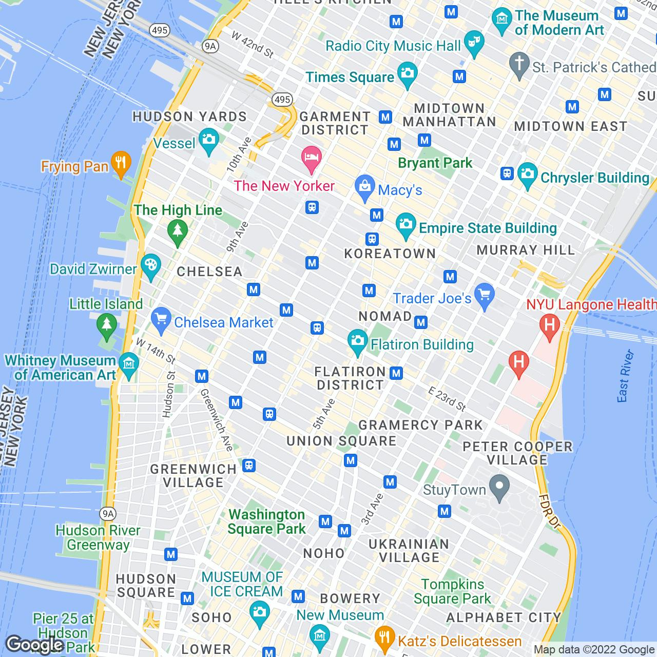 Grand Masonic Lodge Of New York The Official Guide To New York City - New york map key