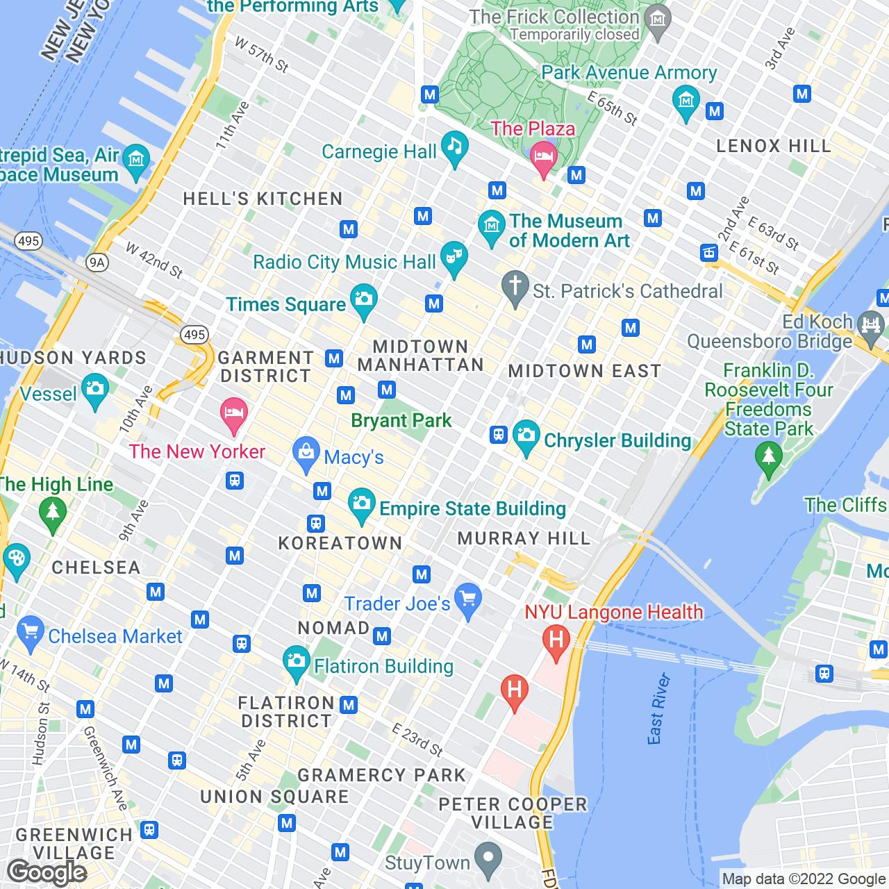 New York City Pocket And Travel Guides - New york map key