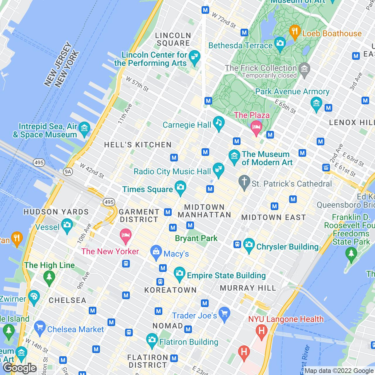 New York City Maps And Neighborhood Guide Hotels Near Times